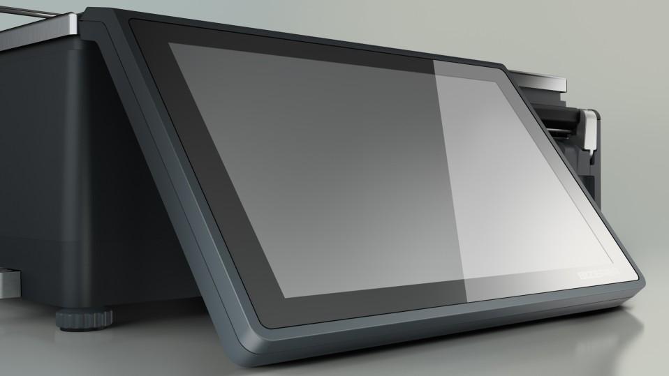 """Весы с чекопечатью Bizerba XC 100 + 7"""" экран посетителя - 3"""