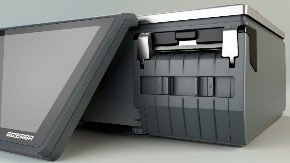 """Весы с чекопечатью Bizerba XC 100 + 7"""" экран посетителя - 2"""